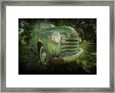 Seen Better Days Framed Print