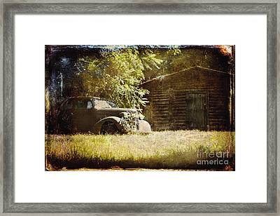 Seen Better Days Framed Print by Sari Sauls