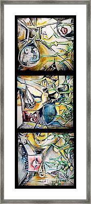 Seeped In Oil Framed Print by Carol Rashawnna Williams