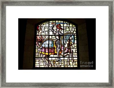 Segovia Alcazar Glass Framed Print by Scotts Scapes