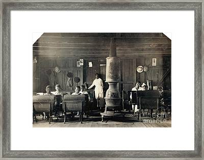 Segregated School, 1916 Framed Print by Granger