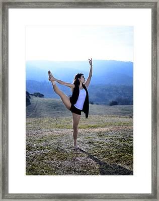 Selena Portrait 02 Framed Print