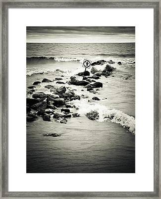 Self-evident Framed Print
