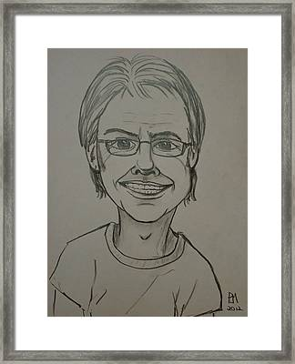 Self Framed Print by Pete Maier