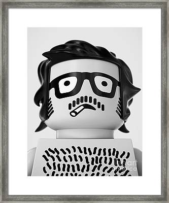 Self Portrait 1967 Framed Print by Max Requenes