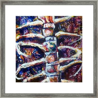 Self Portrait 2 The Housing Of My Heart Framed Print