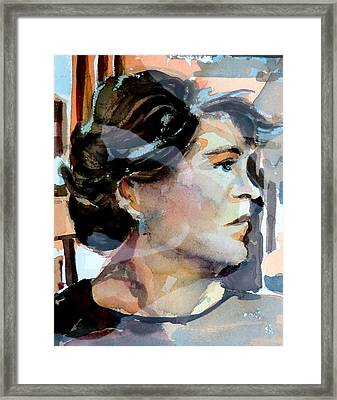 Self Portrait 2002 Framed Print by Mindy Newman