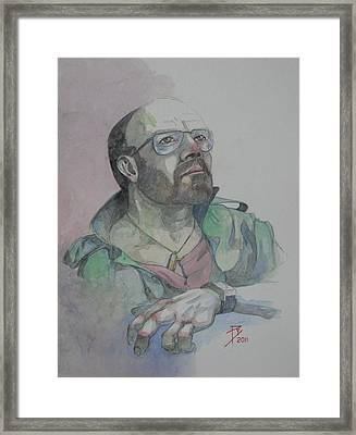 Self-portrait 2005 Framed Print by Ray Agius