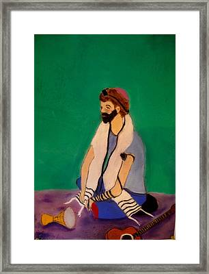 Self-portrait Framed Print by Eliezer Sobel