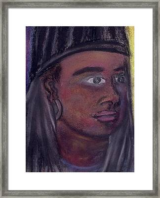 Self Portrait From 2010 Framed Print by Cecelia Taylor-Hunt
