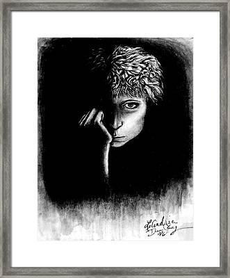 self portrait I Framed Print