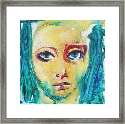 Self Portrait I  Framed Print by Sheridan Furrer