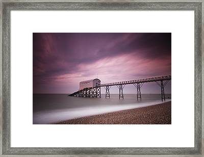 Selsey Lifeboat Station Framed Print by Nina Papiorek