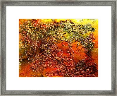 Send Me An Angel Framed Print by Henry Parsinia