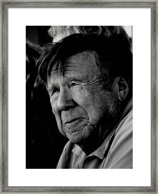 Senior Faces Series Framed Print by Antonia Citrino