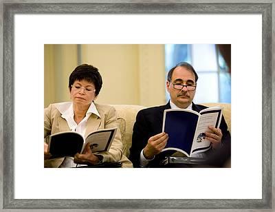 Senior Political Advisors Valerie Framed Print