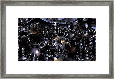 Sensory Overload Framed Print