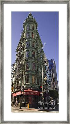 Sentinel Building - Columbus Tower American Zoetrope Framed Print by Tim Mulina