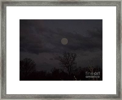 Sentinel Orb Framed Print by Doug Kean