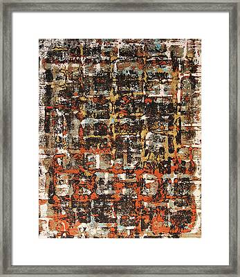 Senza Fine - Never Ending Framed Print by James Mancini Heath