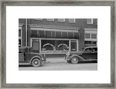 Separate Entrances For Whites Framed Print by Everett