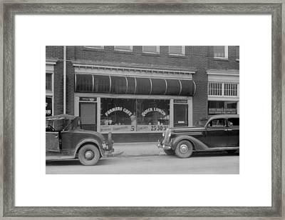 Separate Entrances For Whites Framed Print by Everett