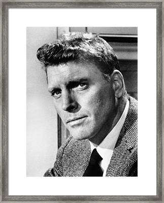 Separate Tables, Burt Lancaster, 1958 Framed Print by Everett