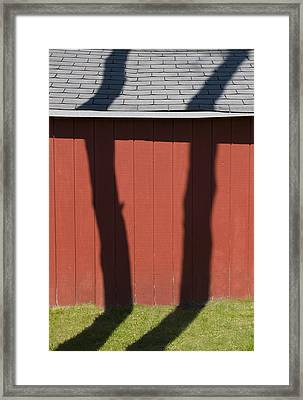 Separated At Birth Framed Print by Paul Wear