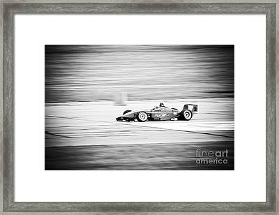 Sepia Racing Framed Print by Darcy Michaelchuk