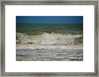 September Beach 2 Framed Print by Susanne Van Hulst