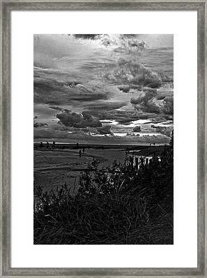Framed Print featuring the photograph September Clouds by Randall  Cogle