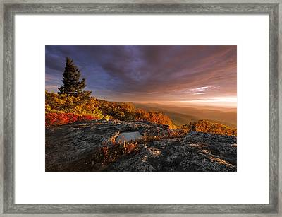 September Dawn Framed Print