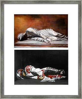 September Sixth Diptych Framed Print by Ian Hemingway