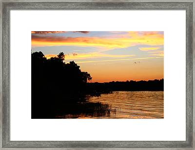 September Sky 12 Framed Print by Mike Wilber