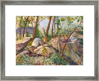 September Song Framed Print by Nancy Watson