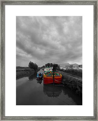 Sequana Beverley Canal Framed Print