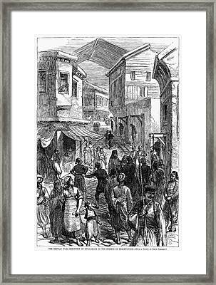 Serbo-turkish War, 1876 Framed Print by Granger