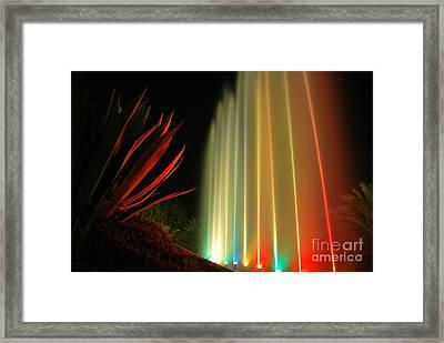 Serenade For Rainbow Framed Print by Erhan OZBIYIK