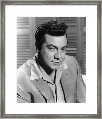 Serenade, Mario Lanza, 1956 Framed Print by Everett