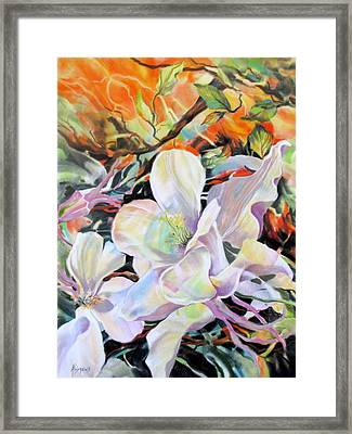 Framed Print featuring the painting Serenata by Rae Andrews