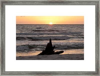 Serendipity Sunset Framed Print