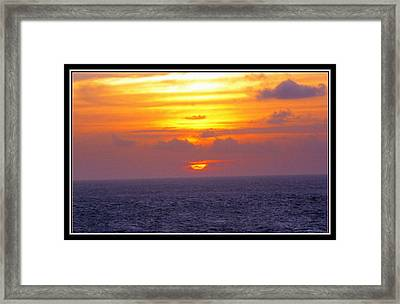Serene Beauty Framed Print by Samiksha Jain