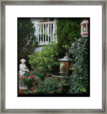 Serene Framed Print by Karen Harrison