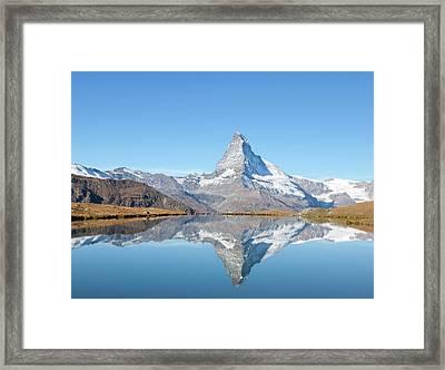 Serene Matterhorn Framed Print by Monica and Michael Sweet