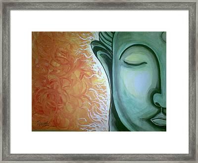 Serene Framed Print by Navjeet Gill