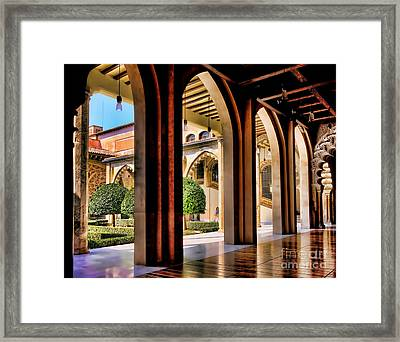 Framed Print featuring the photograph Serenity - Palace Garden by Jack Torcello