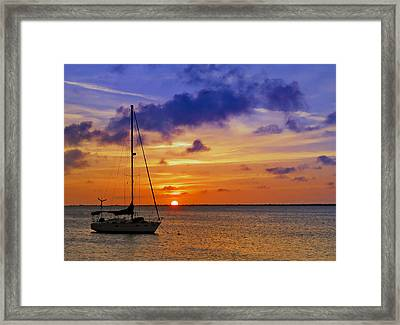 Serenity 2 Framed Print by Stephen Anderson