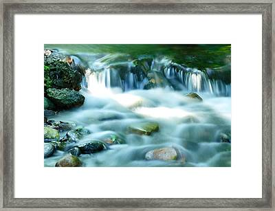 Serenity Framed Print by Andres LaBrada