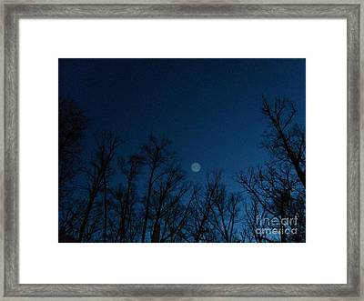 Serenity Blue Framed Print by Doug Kean