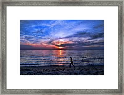 Serenity Framed Print by Brian  Metski
